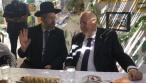 הנשיא ריבלין ביקר בסוכות הרבנים הראשיים
