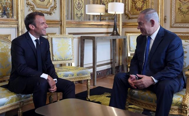 הנשיא הצרפתי: 'העברת השגרירות לירושלים גרמה למוות'