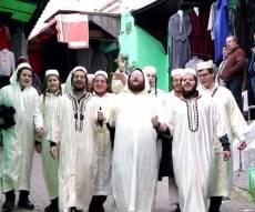 כשהישיבה החסידית צילמה קליפ במרוקו