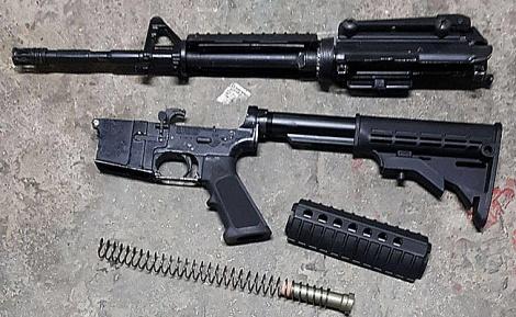 הנשק שנתפס - שניים ממשפחת המחבל מחלמיש - נעצרו