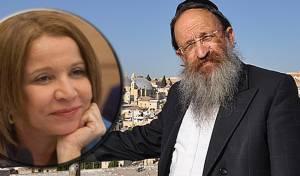 הרב ישראל גליס ושלי יחימוביץ'