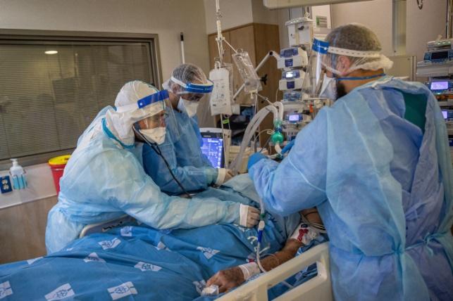 723 חולים במצב קשה; 172 מונשמים