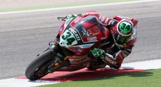 אופנוע של דוקאטי במירוץ - חליפה מיוחדת תציל את האופנוען
