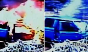מדהים: חילץ אדם רגע לפני הפיצוץ