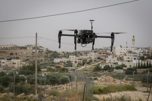 """צה""""ל הפיל רחפן של חיזבאללה בגבול לבנון"""