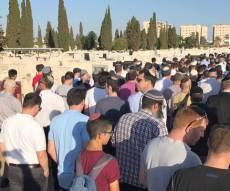 """'גדול מהחיים': מאות בהלווית עוה""""ד שנהרג"""