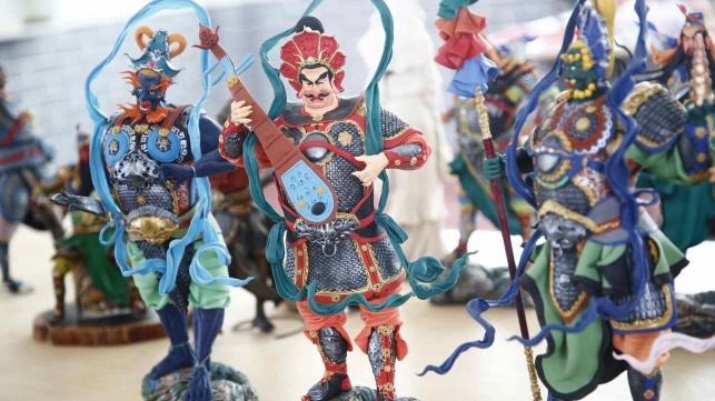 השימוש המרהיב של האמן הסיני ב..בצק