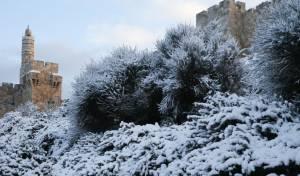 התחזית: השלג יגיע לירושלים בליל שבת?