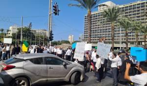 מפגינים נגד הרפורמה המסוכנת
