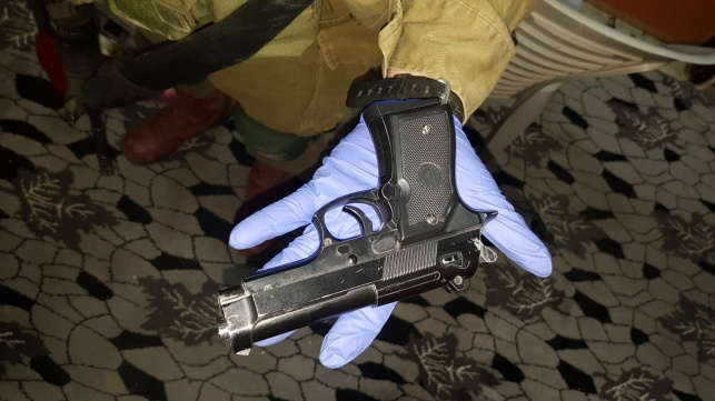 נשק שנתפס בחברון