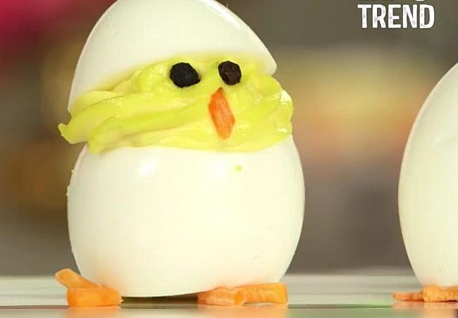 הביצה שהתחפשה לאפרוח - צפו: ביצים מדליקות שיפתחו לילדים את התיאבון