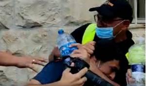 תקיפת הצלמים האלימה: המאבטח - נעצר