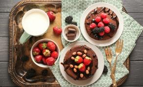 פנקייק שוקולד ושיבולת שועל ללא קמח