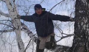 צפו: הסטודנט נאלץ ללמוד על העץ בסיביר