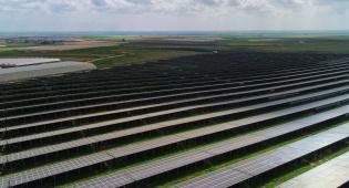 צפו: צילום אווירי של החווה הסולרית בגבעולים