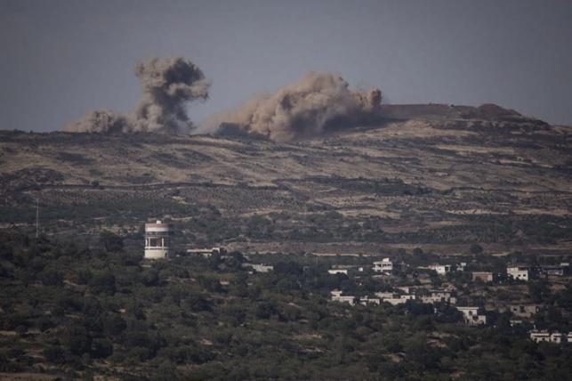 הפצצה ישראלית בסוריה