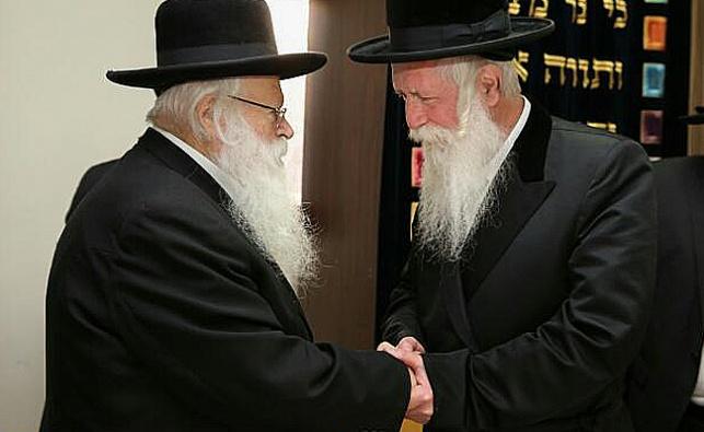 """הרב גרוסמן ספד: """"אלפי תלמידיו הם בניו"""""""