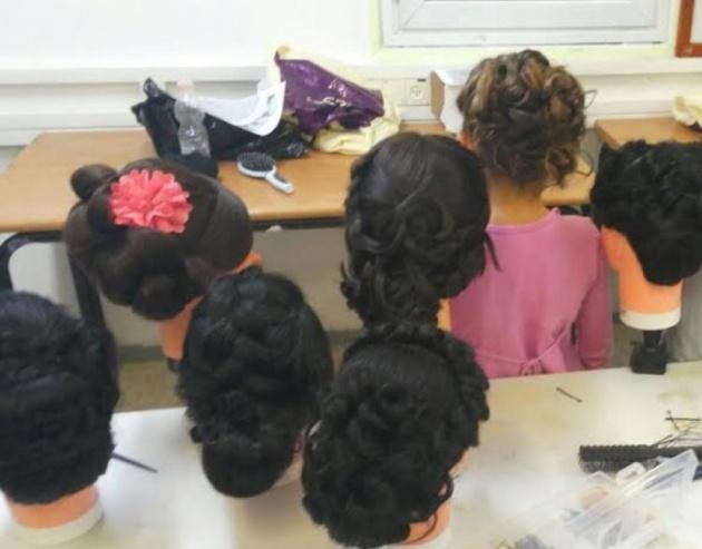 גלית איטליה, בית ספר למקצועות השיער והיופי