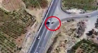 צפו: הנהג בחברון השתולל נגד כיוון התנועה