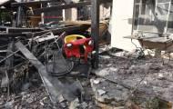 הבית שנפגע
