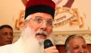 """האדמו""""ר רבי יחיאל אבוחצירא (צילום: מאיר אלפסי)"""
