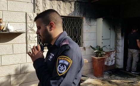 """רס""""ל אושרי ממן שחילץ את הילדים - השוטר פרץ לבית וחילץ את הילדים שנשרפו"""