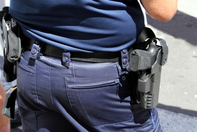 רמת גן: אלמוני ניסה לחטוף נשק ממאבטח