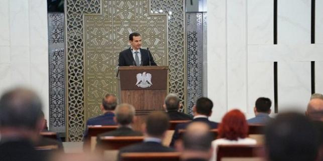 נשיא סוריה חש ברע וקטע את נאומו • וידאו