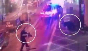 הפיגוע בלונדון: הדקירות, הירי והחיסול • צפו