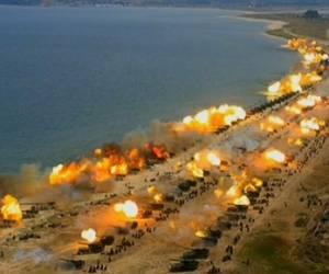 צפון קוריאה תיעדה את אימון האש הגדול בתולדותיה. צפו