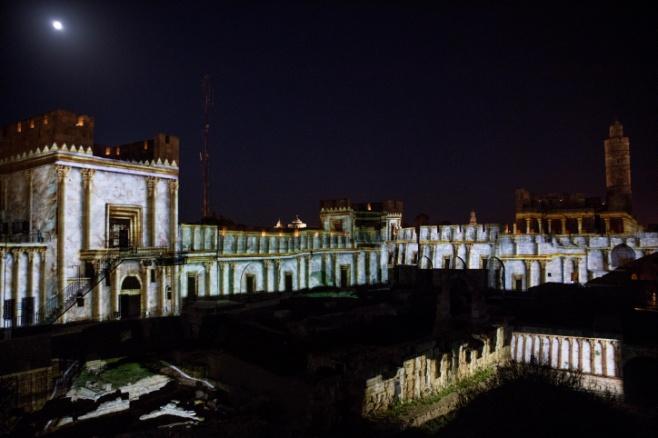 בית המקדש על חומות העיר העתיקה •  צפו