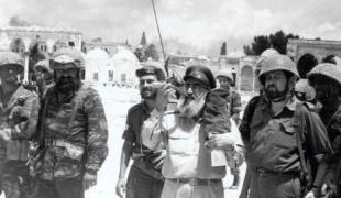 הרב שלמה גורן, בשיחרור הכותל