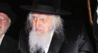 """האדמו""""ר מאונגוואר זצ""""ל (צילום: יהודה פרקוביץ')"""