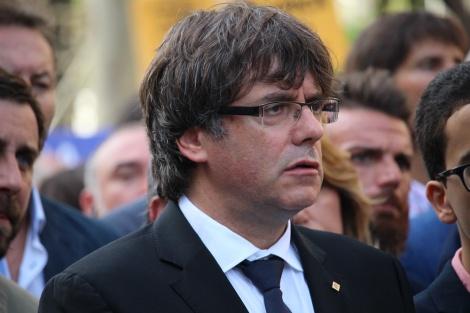 """הנשיא המודח - ה""""נשיא"""" הקטאלוני הסגיר את עצמו לבלגיה"""