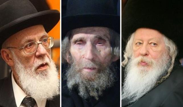גדולי ישראל מתאחדים אל מול הגזירות