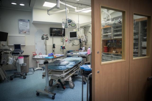 חדר טראומה. אילוסטרציה