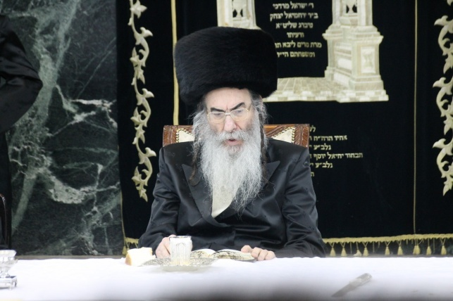 הרבי מאלכסנדר (צילום: בעריש פילמר)
