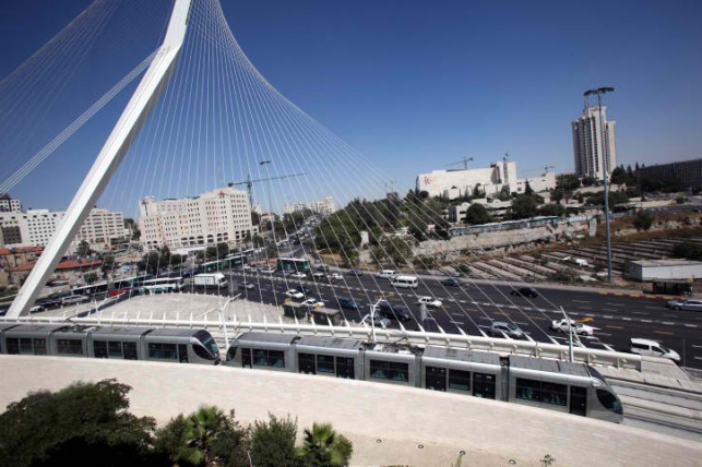 הערב: שיבושי תנועה באזור גשר המיתרים