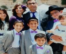משפחת אזאן - יוסי אזן ו-3 ילדיו נפצעו קשה; האם ו-3 ילדים - נספו באש
