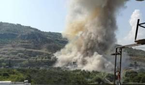 """דיווח בלבנון: טיל שוגר לעבר מל""""ט ישראלי"""
