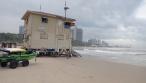 איך נראה החוף הנפרד - בשיא החורף? צפו