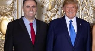 טרמאפ התעניין בפלונטר הפוליטי בישראל
