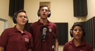 מקהלת קרית נוער בקליפ המסורתי: יעשה שלום