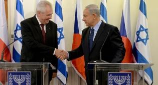זמאן בפגישתו האחרונה עם נתניהו - הנשיא הפרו ישראלי מילוש זמאן - נבחר שוב