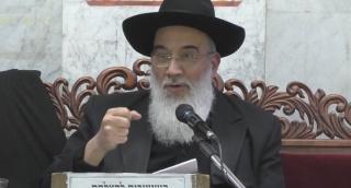 הרב יעקב שכנזי בשיעור מיוחד על כבוד ויראה