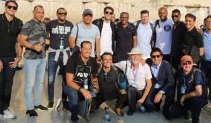 שחקני ברזיל לשעבר התפללו ברחבת הכותל
