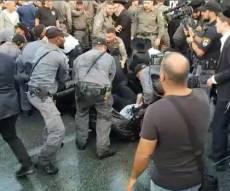 """למצולמים אין קשר לנאמר בידיעה - נסגר תיק החקירה נגד """"השוטרת הבועטת"""""""