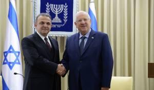"""השגריר עם הנשיא ריבלין - השגריר הטורקי: """"עזיבת היהודים - אבידה"""""""
