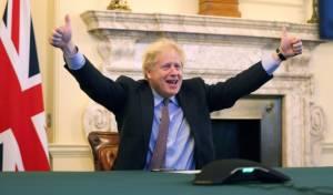 ראש ממשלת אנגליה בוריס ג'ונסון
