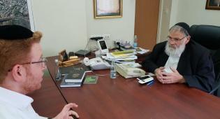 """הראיון האחרון של אברהם רוזנטל ז""""ל • צפו"""